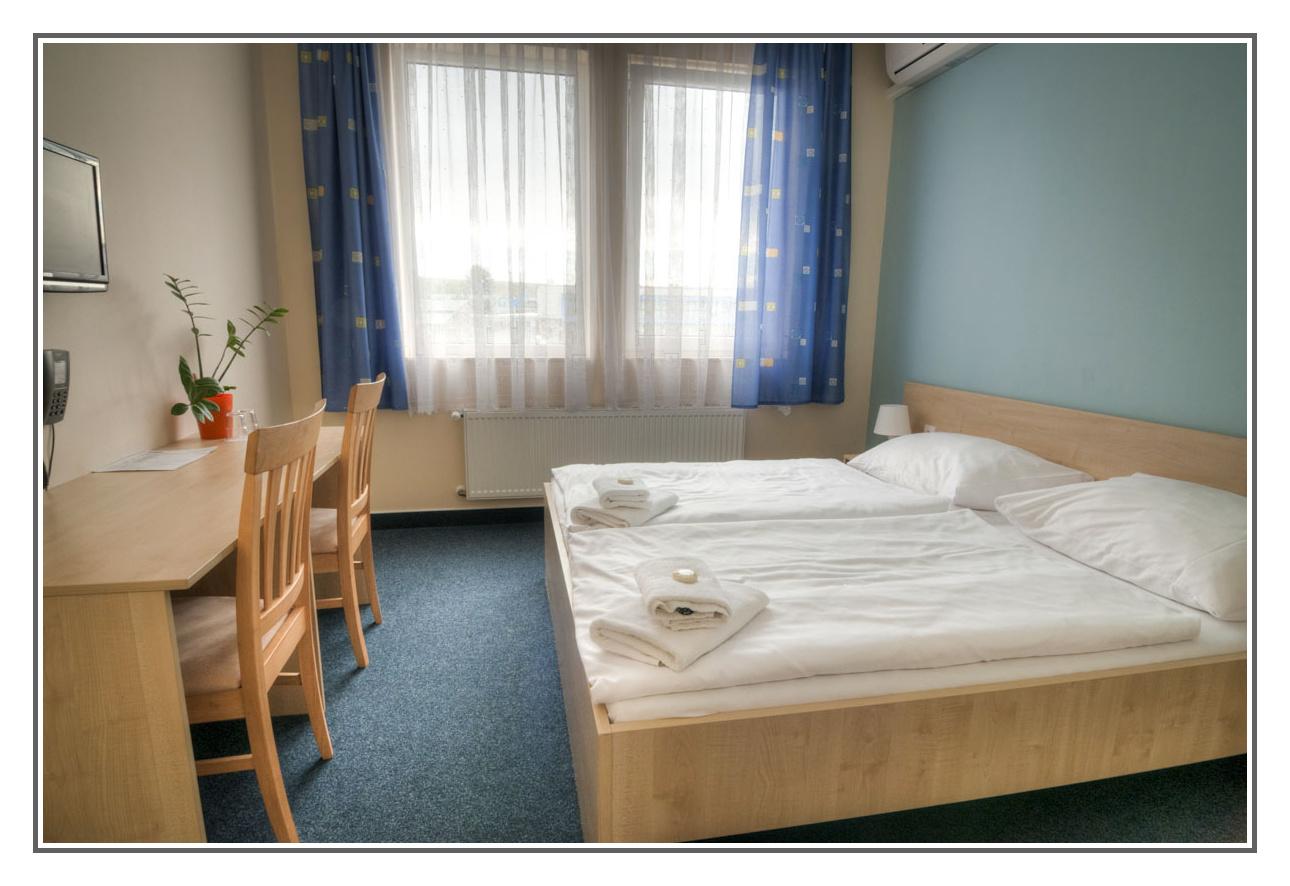 Pokoj Double v City Hotelu Brno